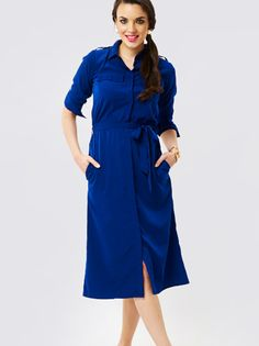 Shirt dresses are the best, chicest and the safest too. Must have in your wardrobe. Shop for latest dresses @RedPolka