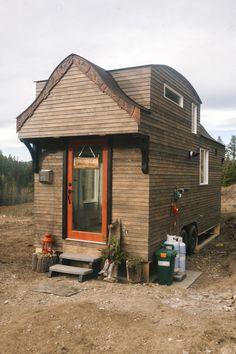This Aboriginal carving-covered home.   - CountryLiving.com