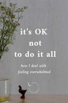 It's ok not to do it all – how I deal with feeling overwhelmed Minimalist Wordpress Themes, Entrepreneur, Hustle And Grind, I Am Exhausted, Brand Story, Its Ok, Feeling Overwhelmed, Business Quotes, Starting A Business