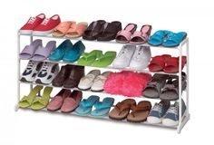 Stacking Shoe Rack - Holds 20 Pairs $22.79