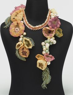 Necklace of the flower - Bead&Button Magazine Community - Forums, Blogs, and Photo Galleries