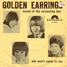 Golden Earring, my very first rock and roll concert was this group at the tender age of 15 in the big city of Indianapolis, we lived in little Shelbyville, about 25 miles away so it was a big dang deal! :)  This album was six years before Radar Love.