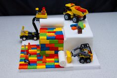 Novelty Lego Cake - 4th Birthday Cake