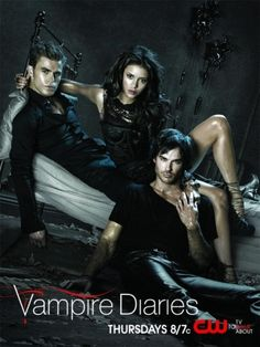The Vampire Diaries  Elena, Damon & Stefan