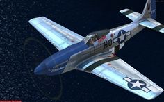 a P-51D skin made for A2A P-51D by Tom Weiss , hosted at www.lockonfiles.com