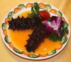 Braised Sea Cucumber in Brown Sauce