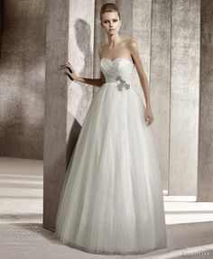 Love this one too!  Pronovias Barcelona 2012 You Collection-Jaspe