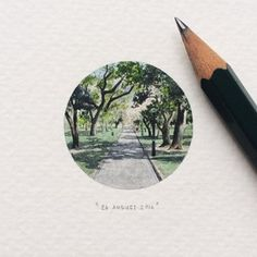 And pastoral scenes from life on Earth. | These Tiny Paintings For Ants Will Make Your Heart Sing
