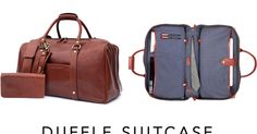 The World's First Duffle Suitcase: Premium Bag | 19 Features | Crowdfunding is a democratic way to support the fundraising needs of your community. Make a contribution today!