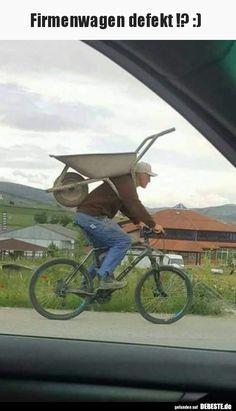 Firmenwagen defekt !? :) | Lustige Bilder, Sprüche, Witze, echt lustig