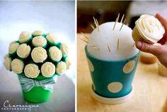 Cool Cupcake Bouquet Idea