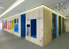 Google's colourful Madrid headquarters by Jump Studios | interiors