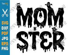 Halloween Shirt, Halloween Diy, Kid N Teenagers, Mom Humor, Print And Cut, Silhouette Studio, Cutting Files, Gifts For Mom, Vinyl Decals