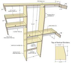 Common+Closet+Dimensions   New York Custom Built Closet   Closet Organizer   Storage