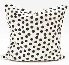 polka dot pillow from Fine Little Day