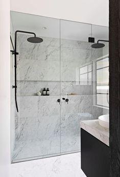 Gallery - TileCloud Bathroom Renos, Laundry In Bathroom, Bathroom Renovations, Small Bathroom, Bathrooms, Basement Bathroom, Bathroom Ideas, Timeless Bathroom, Glamorous Bathroom