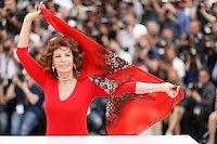 Sophia Loren Cannes 2014