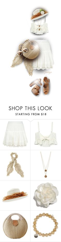 """Easy and Breezy"" by rockreborn ❤ liked on Polyvore featuring Misa, Stone_Cold_Fox, Bee Charming, Gigi Burris Millinery, Cara, Sydney Evan, Miu Miu and Michael Kors"