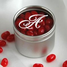wedding favor...pick corresponding jelly belly color to match color scheme