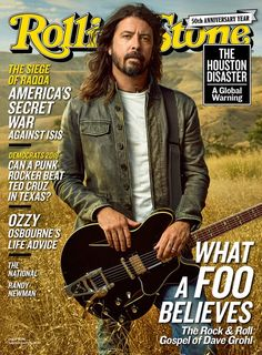 What a Foo Believes: The Sweet Life and Rock & Roll Faith of America's Biggest Band Dave Grohl goes deep on bro-ing down with Justin Timberlake, missing Chris Cornell and his band's star-studded new LP