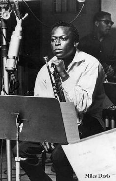 Miles Davis Young Man with a Horn Portrait Music Poster 11x17