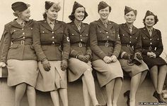 #WWII Women correspondents accredited by the US Army: Mary Welsh, Dixie Tighe, Kathleen Harriman, Helen Kirkpatrick, Lee Miller, and Tania Long.
