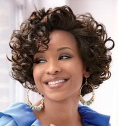 African American Short Hairstyles for Curly Hair