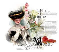 """Vintage"" by mljilina on Polyvore featuring art and vintage"