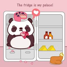 The fridge is my palace