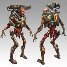 Forum - Doom, Quake & Rage - Der id Software Art-Thread - Seite 3 Doom 4, Doom Game, The Revenant, Game Concept Art, Character Concept, Nintendo 2ds, Doom Demons, Software Art, Demon Art