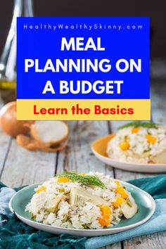 If you are just starting out, meal planning might seem overly complicated. Learn 10 meal planning tips for beginners that will make meal planning a breeze. Frugal Meals, Cheap Meals, Lunch Recipes, Breeze, Meal Planning, Health Fitness, Snacks, Skinny, How To Plan
