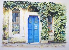 Wonderful detail - watercolor by Beni Gassenbauer
