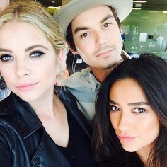Ashley Benson, Tyler Blackburn, Shay Mitchell
