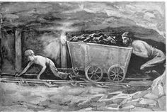 """ponies in the coal mines 