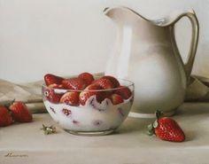 Jeffrey T. Larson - Milk & strawberries