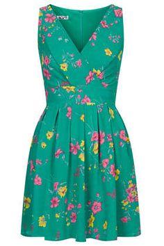 **Bedrucktes Kleid mit überkreuztem Oberteil von Wal G - Kleider - Bekleidung