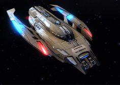 Star Trek style shuttlecraft