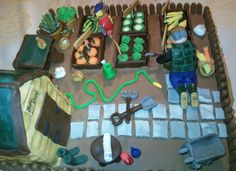 Allotment cake from Cakes By Nicky