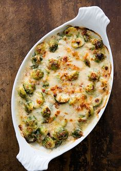 Brussels Sprouts Gratin...would like to make this side dish for easter!