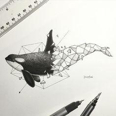 Geometric Beasts   Orca
