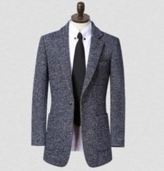 Hot sell ! Lapel plus size <font><b>grey</b></font> brown brand clothing <font><b>mens</b></font> <font><b>black</b></font> <font><b>blazer</b></font> <font><b>slim</b></font> <font><b>fit</b></font> winter wool coat <font><b>men</b></font> suit jacket S 8XL 9XL Price: INR 7198.308…