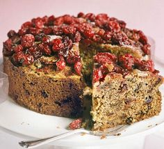 A Fruit Cake For Those Who Like Theirs Light Spicy Fruity And Moist