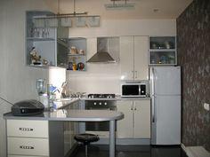 Кухни с газовой колонкой в хрущевке: фото ремонта, дизайн с холодильником, идеи интерьера, проекты планировки маленькой кухни