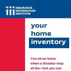 How to take a home inventory of your possessions. Good for homeowners  insurance claims. Fire insurance. Flood insurance. #insurance