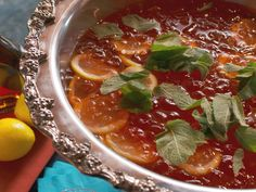 Library Punch recipe from Nancy Fuller via Food Network