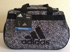 bc3228c663 adidas Diablo Small Duffel Gym Sports Bag Kapow Print Black White