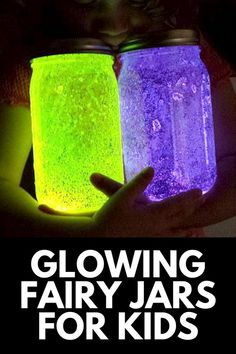 This 4-step craft is a fun way to cultivate your child's imagination! Here, we show you how to capture a fairy with our GLOWING DIY Fairy Jars! Get the full tutorial at MomDot.com!