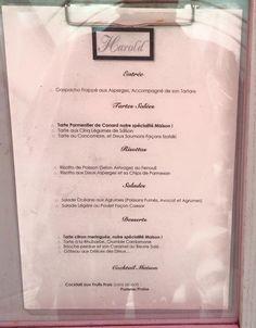Formules du midi chez Harold 27, rue de Vesle à Reims. Cuisine 100% Maison
