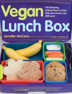 Vegan Lunch Box (Whole Grains, Gluten Free options and it's vegan!)