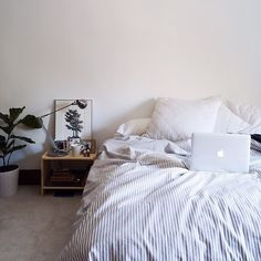 home accessory bedding duvet grey stripes hipster